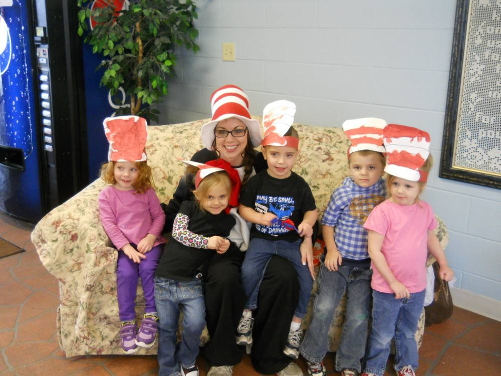 The Preschool Kids with The Cat in the Hat